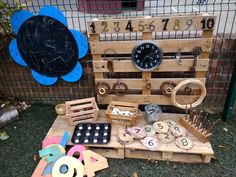 Ideas children furniture ideas doors for 2019 Maths Eyfs, Eyfs Activities, Reggio Classroom, Nursery Activities, Outdoor Classroom, Outdoor School, Numeracy, Outdoor Learning Spaces, Outdoor Play Areas