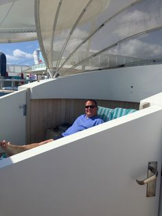 Getting passes to Vibe is a must for us. Private deck club with extra services and amenities Norwegian Breakaway, Caribbean, Sailing, Cruise, Deck, Florida, New York, Club, Candle