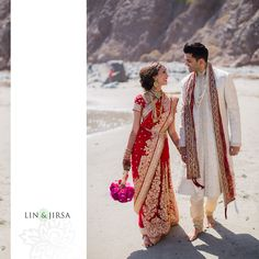 Please enjoy this gorgeous Laguna Cliffs Marriott Indian wedding featuring Anand and Anita. A big thank you to Iris Yang of Ethnic Essence Couture Events …