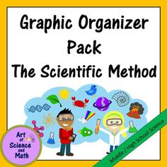 Help your students to understand the steps of the scientific method and how to use them in your middle school or high school science class. These clearly designed graphic organizers provide your students with a solid framework to help them organize and learn concepts.