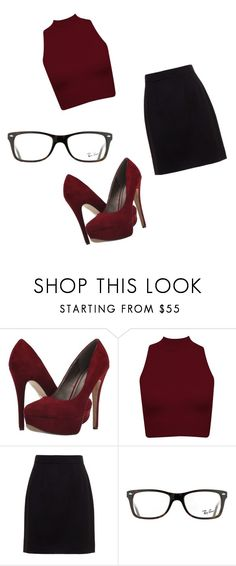 """""""Untitled #76"""" by swag345 ❤ liked on Polyvore featuring Michael Antonio, Dolce&Gabbana and Ray-Ban"""
