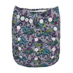 U Pick Alva Baby 2016 One Size Fits All Reusable Baby Cloth Diaper with Insert (YA Series)