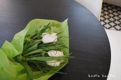 Kuistin kautta: Siivouspäivän tulppaanit