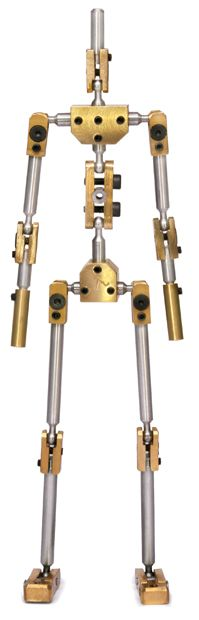 K1 Stopmotion armature. Professional structure for stopmotion animation