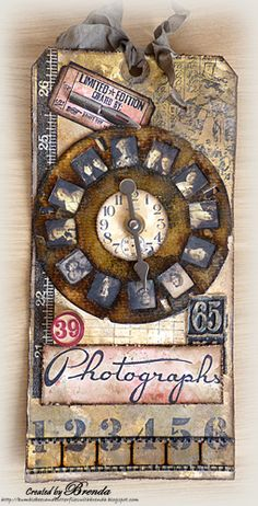 #papercraft #tags - Bumblebees and Butterflies: Photographs - the Vintage Picture Wheel