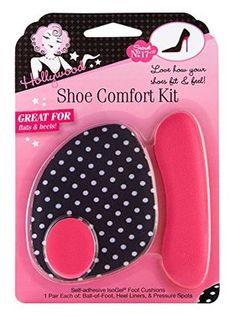 Hollywood Fashion Secrets Shoe Comfort Kit includes Ball-of- Foot Cushions, Heel Liners, and Pressure Spots Trendy Plus Size Clothing, Plus Size Outfits, High Heel Protectors, Shoes Too Big, Hollywood Fashion, Vintage Hollywood, Classic Hollywood, Wide Shoes, Dressing Rooms
