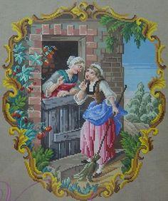 Для тех, кто хочет вышить что-то особенное, я подобрала коллекцию старинных французских и голландских схем для вышивки крестиком. Это цветочные, растительные, живописные ботанические и анималистические мотивы, орнаменты в стиле рококо, старинные пейзажи, а также пасторальные сцены с изображением жизни людей. Многие узоры, которые здесь представлены, называются Petit Point.