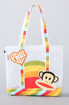 The Mesh Tote Bag by Paul Frank