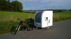 Wide Path Camper bike camper