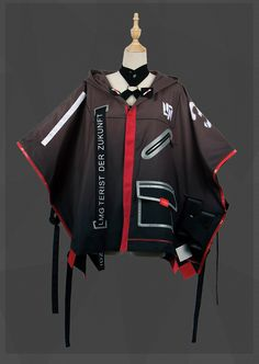 shop VEVEFHUANG Cosplay Outfits, Edgy Outfits, Anime Outfits, Fashion Outfits, Cyberpunk Clothes, Cyberpunk Fashion, Mode Kpop, Anime Dress, Fashion Design Drawings