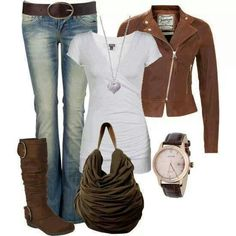 # F/W STREET FASHION COMPLETE OUTFIT COMBINATION