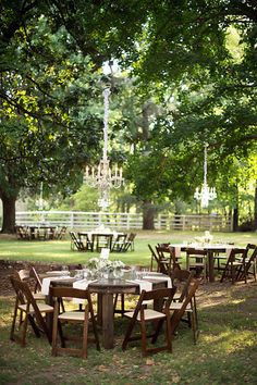 Outdoor reception Travellers Rest Nashville, TN (Photo from Magali and Tommy collection by Stephanie Reeder Photography) Firefly Events Nashville - Nashville Audio Visual