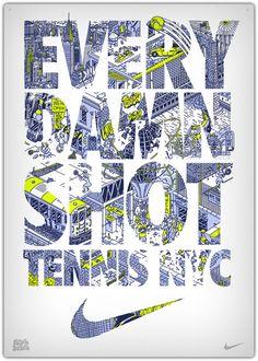 Ilustraciones para Nike por Peachbeach