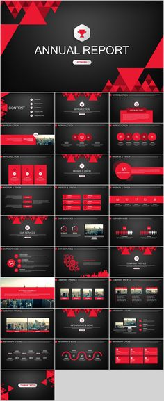29+ red black work summary PowerPoint templates on Behance #powerpoint #templates #presentation #animation #backgrounds #pptwork.com #annual #report #business #company #design #creative #slide #infographic #chart #themes #ppt #pptx #slideshow