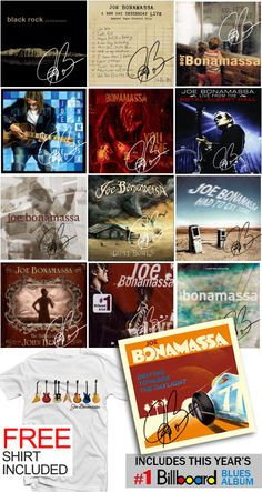 Hand Signed Catalog Set