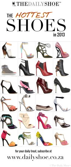 The Hottest Shoes in 2013 - The Daily Shoe