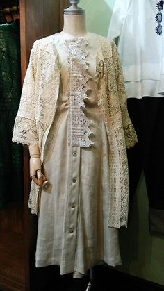 #miyaco #fashion #lace #レース #リネンワンピース
