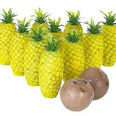 Pineapple bowling...this would be great for our Luau themed Daylight Prom.