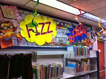 """The Children's Department is gearing up for 2014's Summer Reading: """"Fizz, Boom, Read!"""""""
