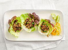 Mushroom & Quinoa Lettuce Wraps. #recipe