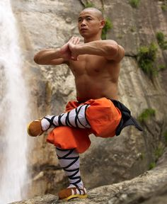 Shaolin monk. #China