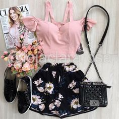 Casual Skirt Outfits, Cute Summer Outfits, Short Outfits, Cool Outfits, Short Dresses, Future Clothes, Teen Fashion, Womens Fashion, Dressed To Kill