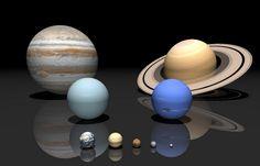 Плутон: сбежал от Нептуна.