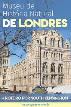 Que tal um passeio pela Europa com direito a vários museus sem pagar nenhum ingresso? Descubra aqui como visitar o Museu de História Natural de Londres e muitos outros de graça.