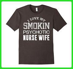 Mens Nurse Shirt I Love My Nurse Wife T-shirt Nurse Gifts Medium Asphalt - Careers professions shirts (*Amazon Partner-Link)