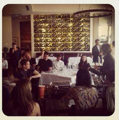 Staff training @FrascaFood&Wine, thanks @BobbyStuckeyMS!
