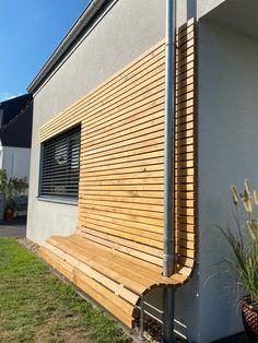 Design Jardin, Garden Design, Wood Construction, Cubes, Bungalow, Blinds, Architecture Design, Pergola, Sweet Home