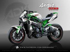 Une Kawasaki H2R Streetfighter ? C'est possible grâce à AD Koncept ! » AcidMoto.ch, le site suisse de l'information moto