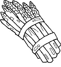 Image result for asparagus coloring pages