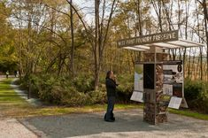 The picturesque Hudson River village of Cold Spring, just north of New York City, welcomed a major cultural edition this past weekend. Forest Preserve, Project Site, New West, Environmental Graphics, Hudson River, Outdoor Signs, Virtual Tour, Kayaking, Signage