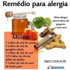 Remedio para #alergias