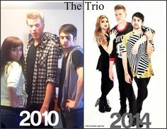 The transformation of Scott, Mitch, and Kirstie from Pentatonix.  Wow.