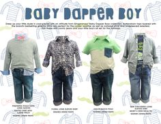Gingersnaps Infant Boys Collection, Baby Dapper Boy