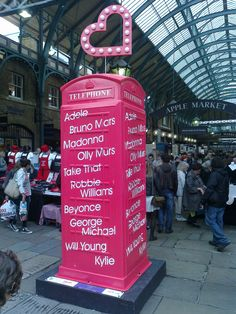 Covent Garden and Carnaby Street