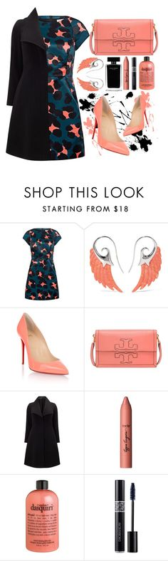 """Christian Louboutin!"" by sanela-enter ❤ liked on Polyvore featuring Paul & Joe Sister, Noor Fares, Christian Louboutin, Tory Burch, Studio 8, tarte, Narciso Rodriguez, philosophy and Christian Dior"