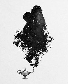 Digital designer and illustrator Muhammed Salah. Muhammed Salah is a 27 years old artist, illustrator, art director, digital designer and graphic designer. Art Sketches, Art Drawings, Space Drawings, Illustration Art Dessin, Muhammed Salah, Flame Art, Galaxy Painting, Couple Drawings, Silhouette Art