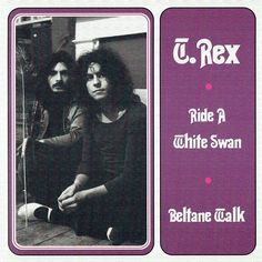 """A Marc In Time...October 26th 1970 T.Rex record a radio session for John Peels Top Gear on BBC Radio 1. The recording of Ride A White Swan - BBC Top Gear Session 26th October 1970 (shown below) was released as part of Marc Bolan Electric Sevens 2 - At The BBC 4 Vinyl 7"""" Limited Edition Box Set released on April 19th 2014. The whole recording of the performance along with many others can also be found on the excellent Marc Bolan - At The BBC (6CD) released August 26th 2013 BBC Radio One To..."""