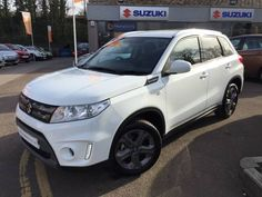 Used 2015 (15 reg) White Suzuki Vitara 1.6 SZ-T 5dr for sale on RAC Cars