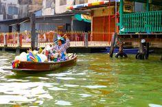 Bangkok floating market by Moise Levi on 500px