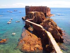 Forte das Berlengas  Hire a boat out of Peniche, Portugal, when available, and travel six miles offshore to the pristine Berlenga Islands. Then hike, kayak, snorkel, and swim the day away. Pack a picnic lunch and feast on the beach. The perfect day in paradise.