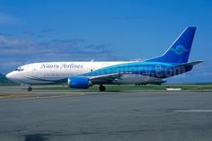 Nauru Airlines Boeing 737-3H6 (F) VH-VLI (msn 27125) (Jacques Guillem Collection). Image: 932356.
