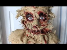 Scarecrow Tutorial and Timelapse - YouTube