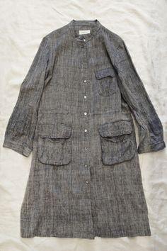 Dosa Safari Shirtdress Indigo 100% Organic Khadi Cotton / Made in India / available in: Indigo