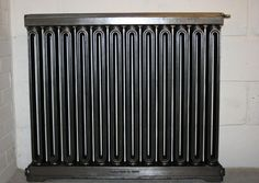 Rare Single Church radiator pat'd on October 1895 shown here in a polished finish. This radiator has been fully restored and is ready to go. Old Radiators, Cast Iron Radiators, Ready To Go, Furniture Decor, Restoration, Old Things, October, It Is Finished