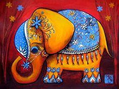 The Littlest Elephant Painting  - The Littlest Elephant Fine Art Print