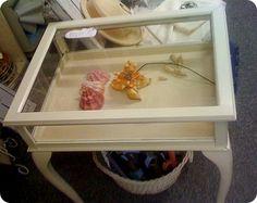 Attirant Shadow Box Table